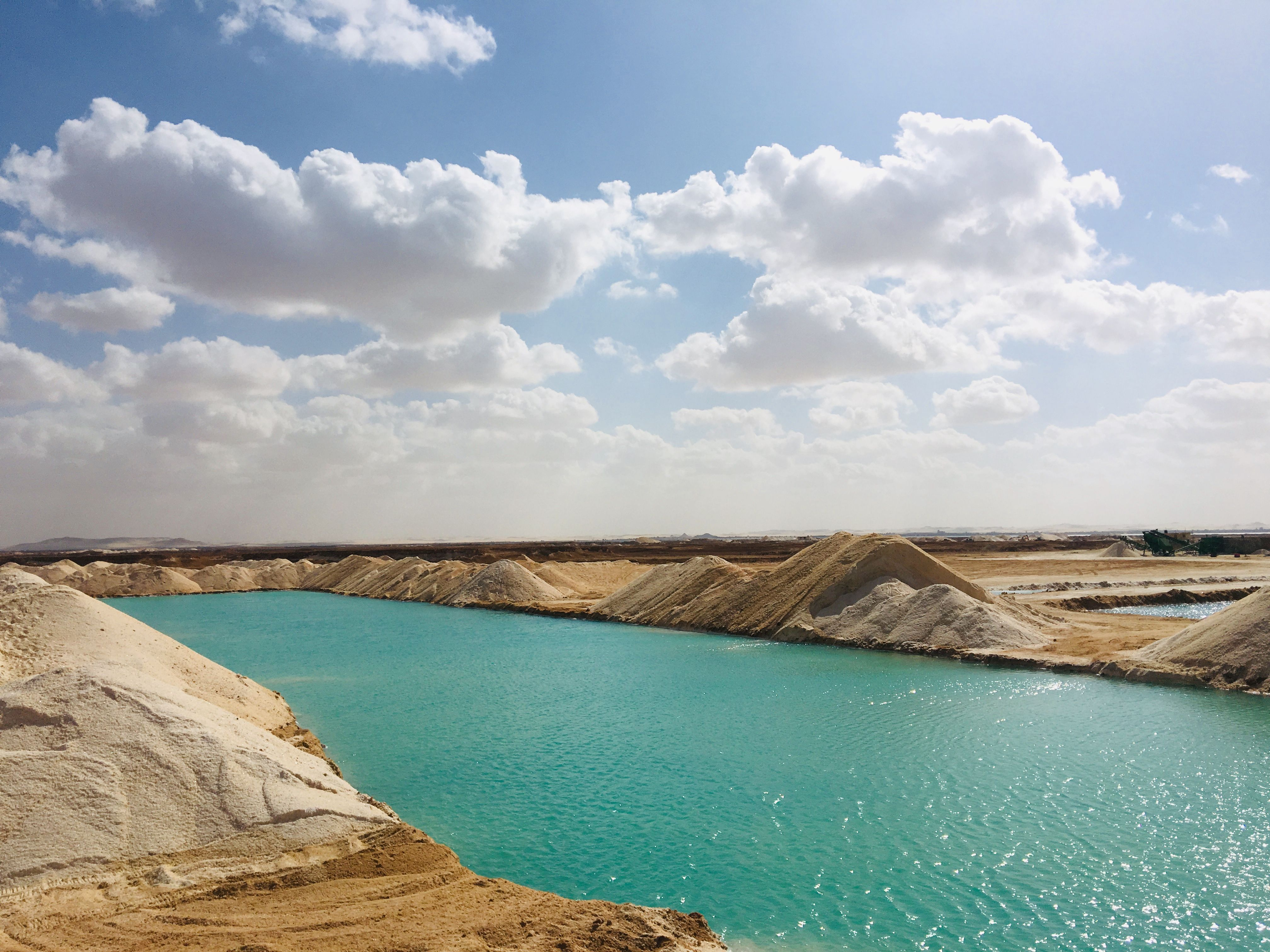 Salt Lakes Nature Salt Lakes At Siwa Oasis Siwa Oasis Safari Tour Tours