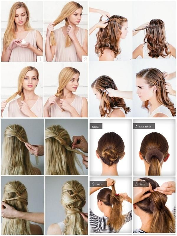Hairstyles For Long Hair Step By Step models hairstyle