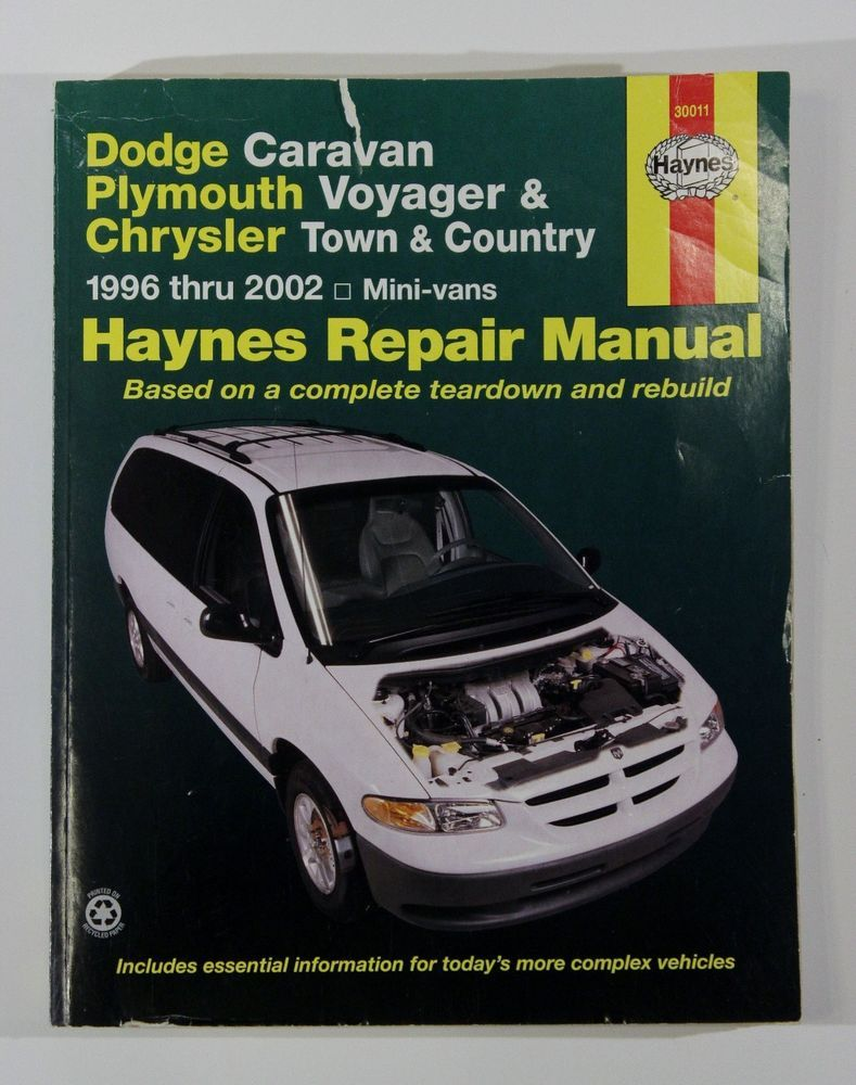 dodge caravan haynes repair manual plymouth voyager chrysler town rh  pinterest com plymouth voyager repair manual 1994 ...