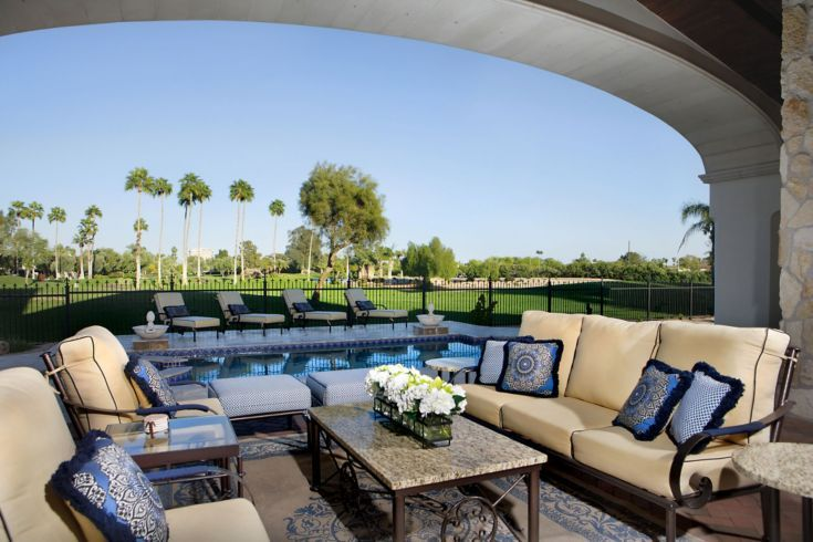 Superieur Patio By Guided Home Designs, Featuring Unique Patio Creations San Carlos  Collection And Exquisite Sunbrella Fabric, Golf Course Landscapes |  Pinterest ...