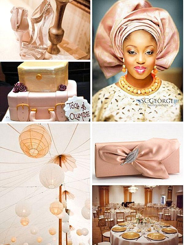 Nigerian Traditional Wedding Colour Scheme Yoruba Bride Nigerian Traditional Wedding Traditional Wedding Wedding Color Schemes