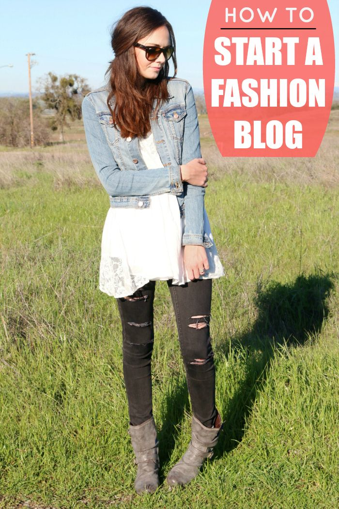 How to start a fashion blog. See how to get started in just a few easy steps!
