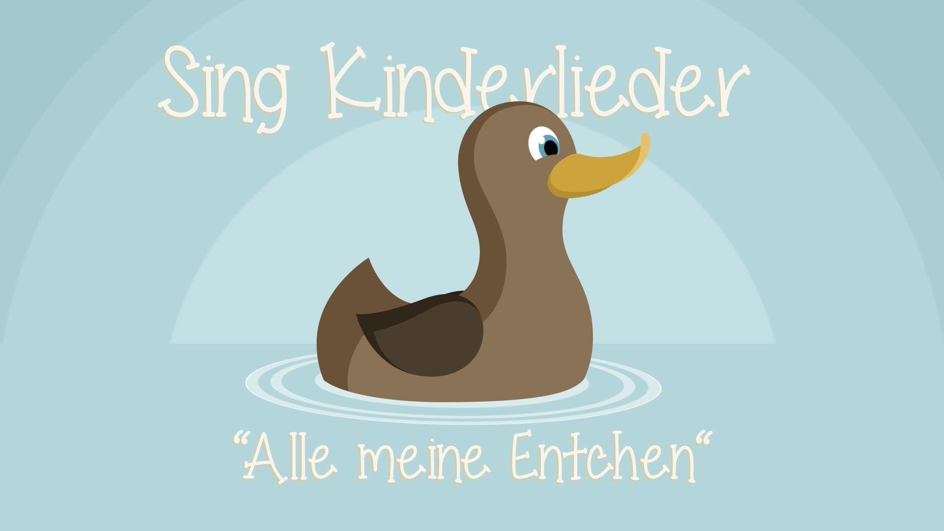 Alle meine Entchen - Kinderlieder zum Mitsingen   Sing ...