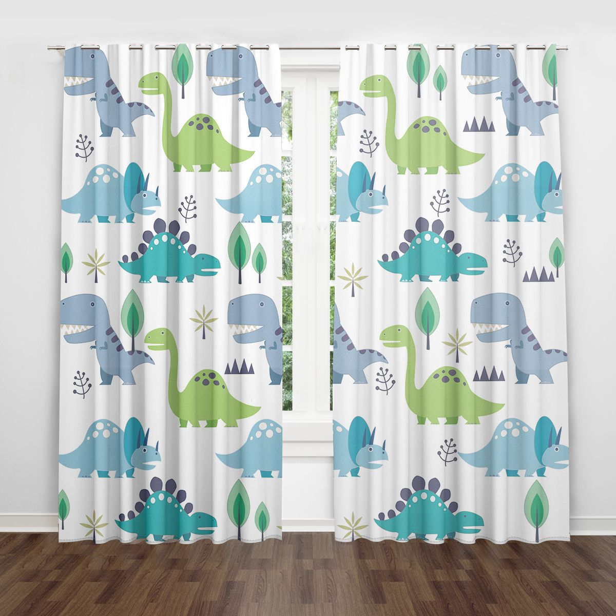 Cartoon Dinosaur Cute Kids Room Nursery Curtains Lovely Children Kids Room Curtains Nursery Curtains Kids Curtains