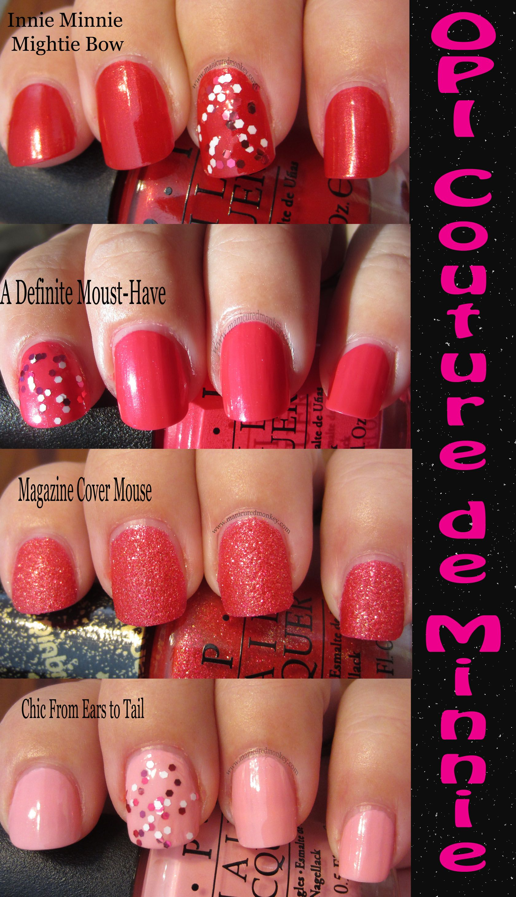 OPI\'s new line focused on Minnie Mouse includes a limited edition ...