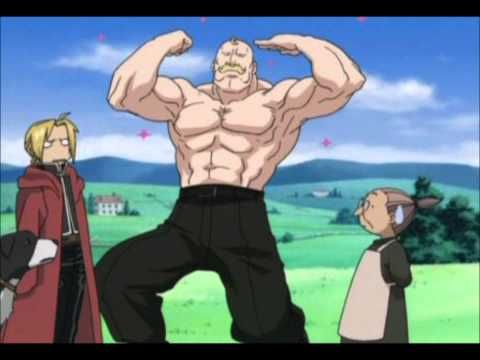 Big Strong Man Fullmetal Alchemist Alchemist Fma