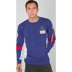 Photo of Alpha Industries Space Camp Sweatshirt Blau M Alpha Industries Inc.