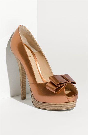 Fendi  Deco  Open Toe Platform Pump   shoes 2   Pinterest   Belle ... 90782ae4b38