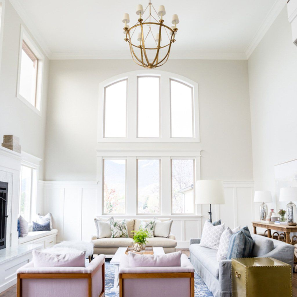 Best Benjamin Moore Classic Gray Oc 23 Living Room Inspiration 400 x 300