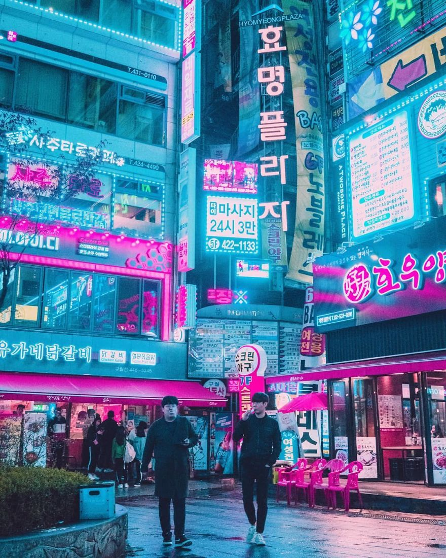 27 Photos From My Neon Hunting In Cyberpunk Cities Of Asia Cyberpunk City Cyberpunk Aesthetic City Aesthetic