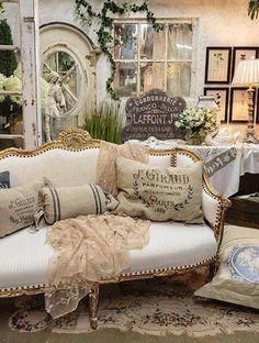 Conscientious handled french country shabby chic home Read More Here #countrykitchen