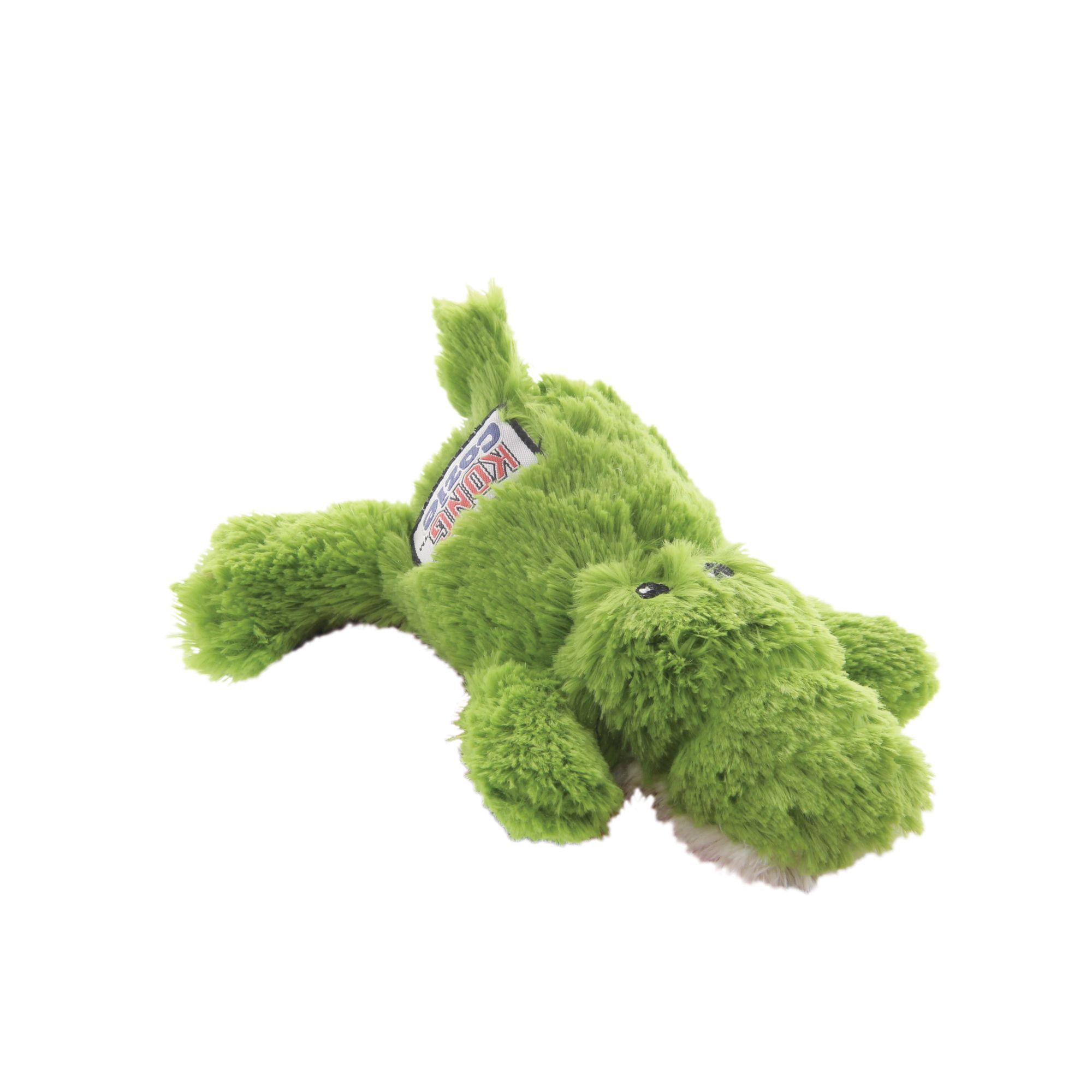 Kong Ali The Alligator Dog Toy Plush Squeaker Size Small