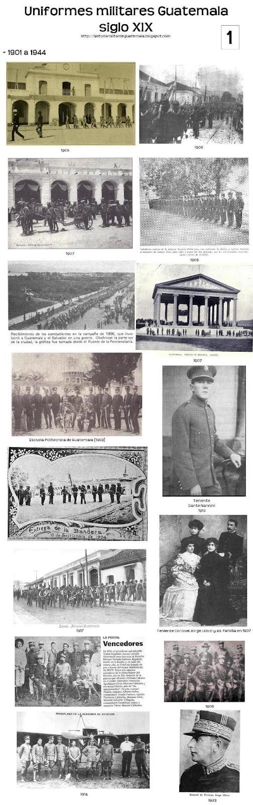 Historia Militar de Guatemala:  (Régimen Liberal)