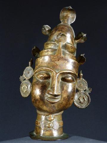t objets d 39 art vente achat acheter antiquit s vendre statue khmer d 39 esprit t te de bouddha en