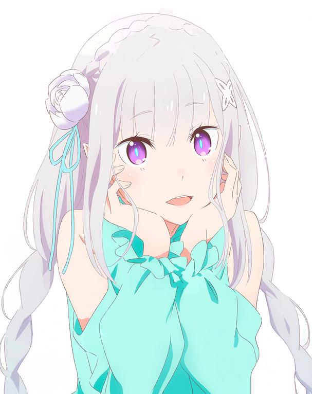 Emilia rezero [Media] Clean version nov Newtype
