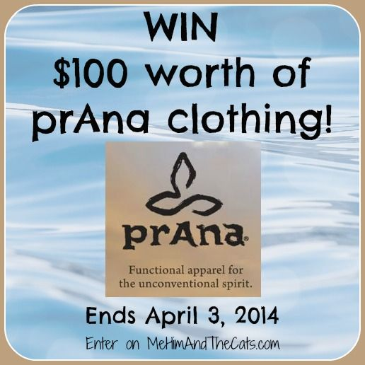 $100 in prAna Clothing Giveaway |  Ends 4/3