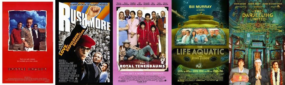 Wes Anderson rocks. I love all his work.