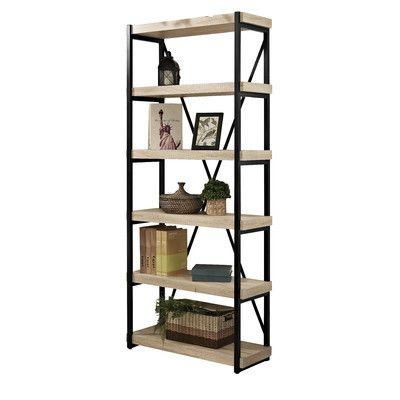 """E-Ready Emery 72"""" Bookcase"""