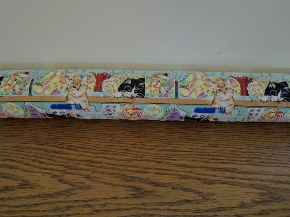 38\  Door Draft Stopper Unfilled Door Snake Draft Blocker cats kittens multicolor #Handmade # & 38\