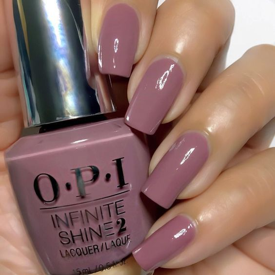 Mauve Color Nails For The Exquisite Look Naildesignsjournal Com Mauve Nails Nail Colors Classic Nails