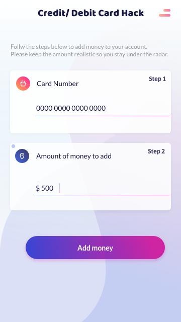 add free money to debit card hack 2017