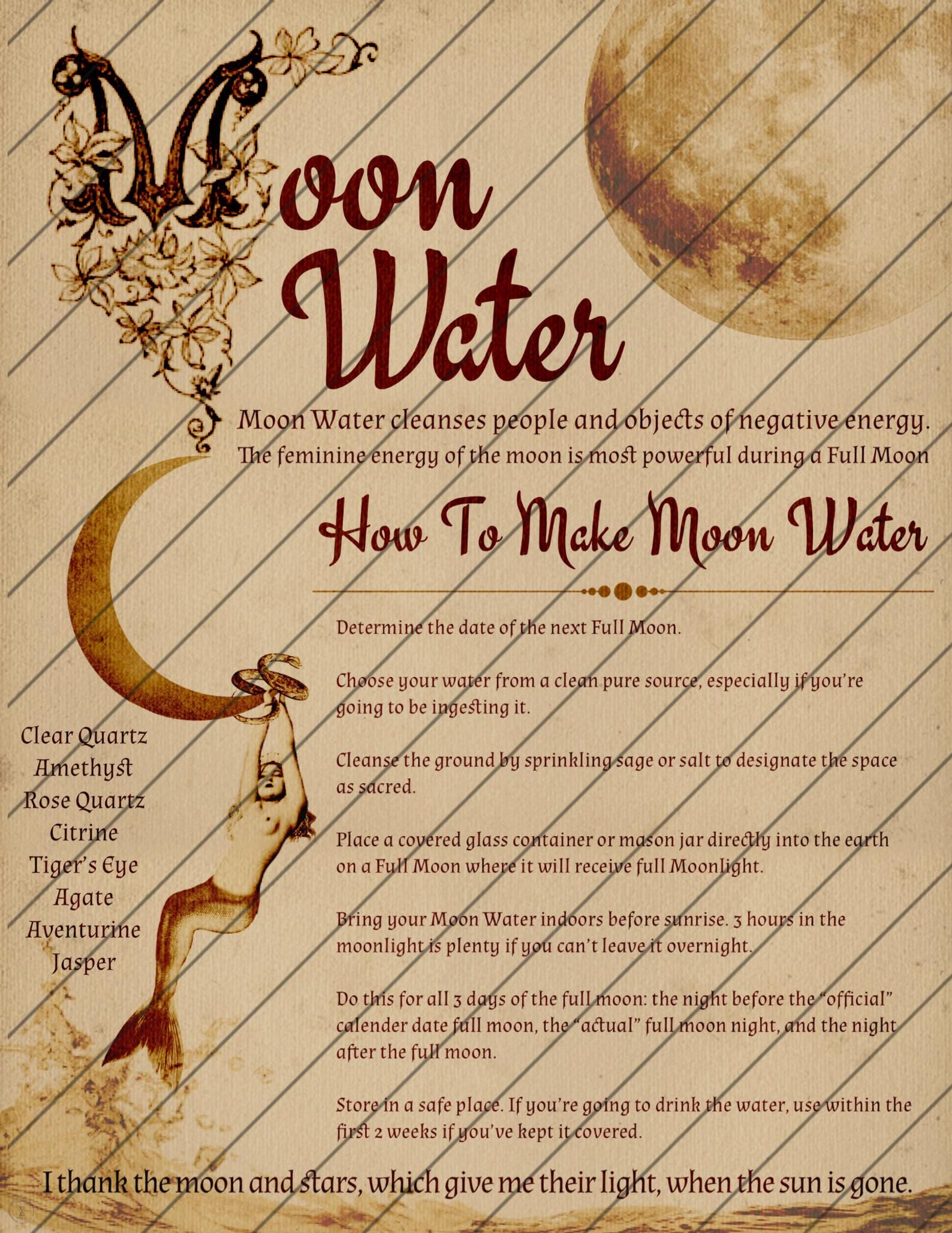 Book of Shadows Pages,  Protection Magic, Digital Download, Grimoire Pages, Mars Water, Black Salt, Moon Water, Instant Download, Smudging