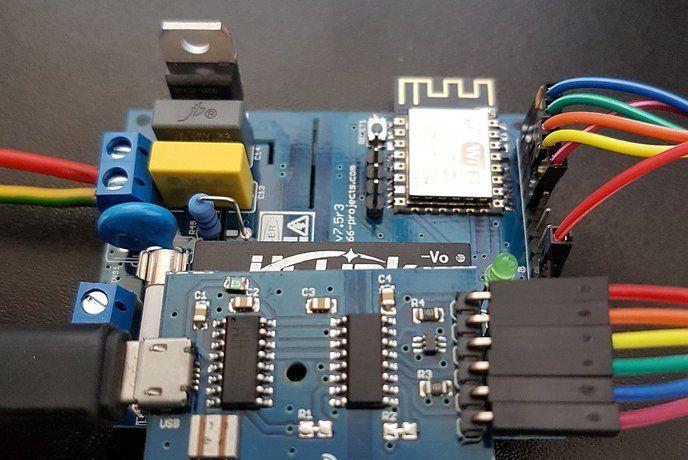 Esp Rfid Relay Board 12v For Esp8266 Board By Advanceit On Rfid Relay Esp