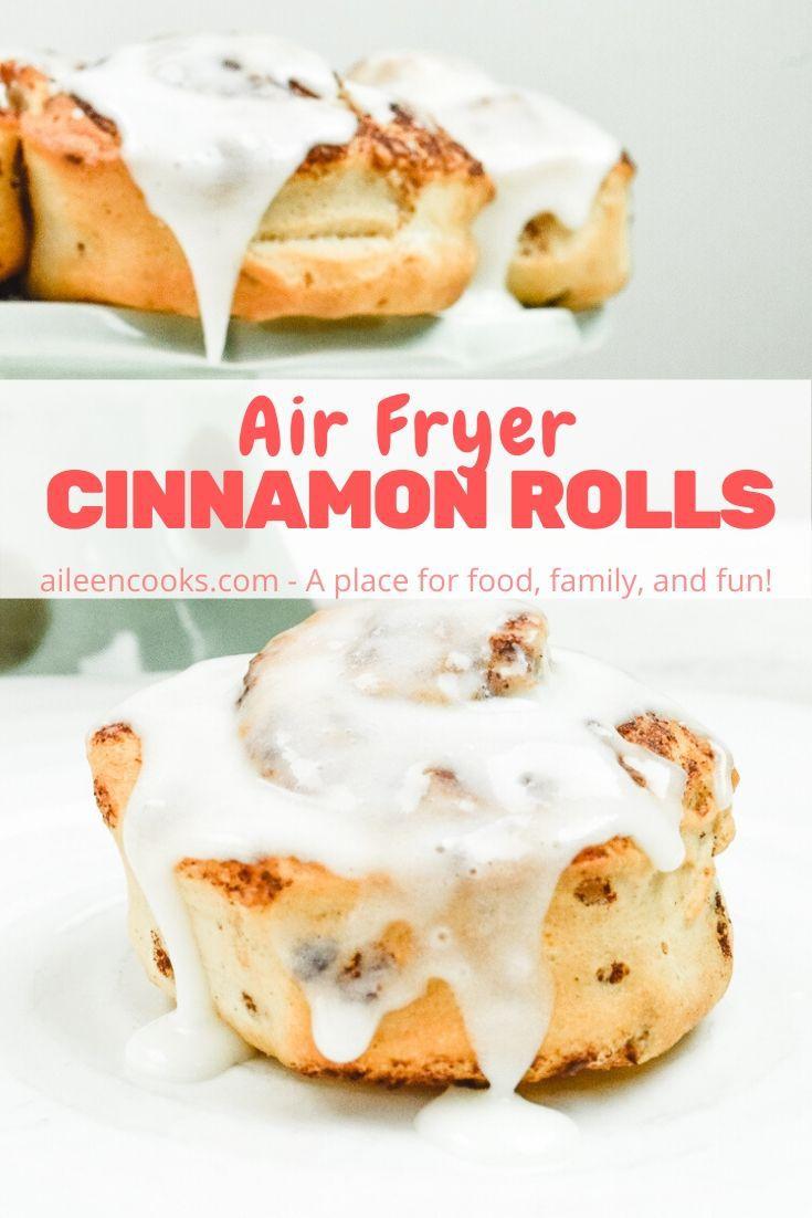 Air Fryer Cinnamon Rolls Recipe Cinnamon rolls, Air