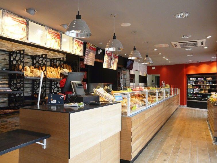 Agencement boulangerie deco magasin pinterest for Agencement cuisine traiteur