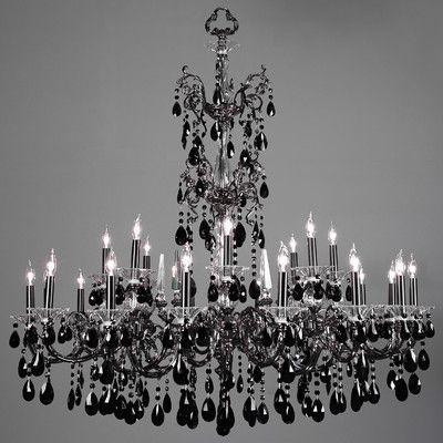 Classic Lighting Via Lombardi 24 Light Candle Style