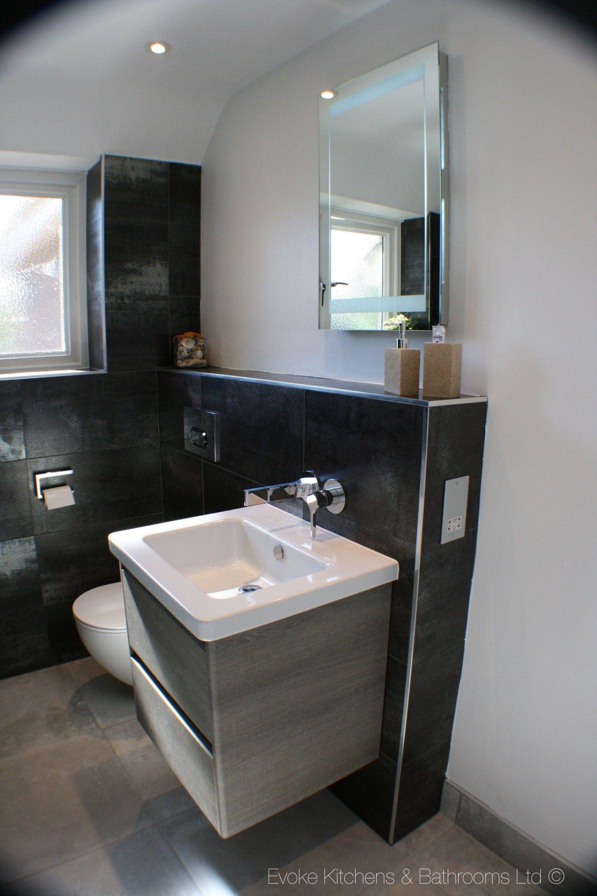 Wall Mount Double Sink Vanity