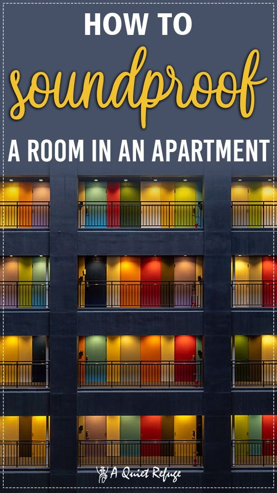 How to Soundproof a Room in an Apartment in 2020 (With ...
