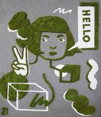moss graffiti - Google Search