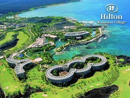 Hilton Waikoloa Village Kona Hawaii This Was The Gest Resort I Had Ever