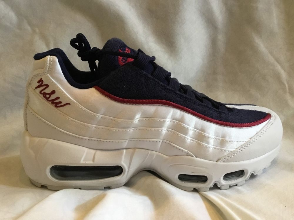 e61c91aa50007 Nike Wmns Air Max 95 LX White Blackened Blue Red Crush AA1103-100 Women's Size  7 #fashion #clothing #shoes #accessories #womensshoes #athleticshoes (ebay  ...