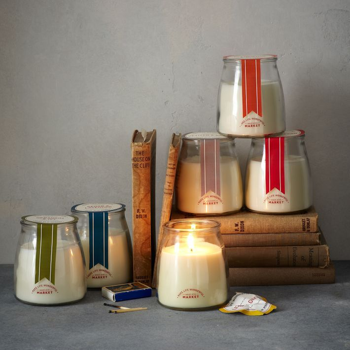 Merveilleux West Elm Market Kitchen Candles   Available In Cedar + Lavender, Clementine  + Basil, Geranium + Ivy, Lemon + Ginger, Tomato + Fern And Vetiver + Sage.