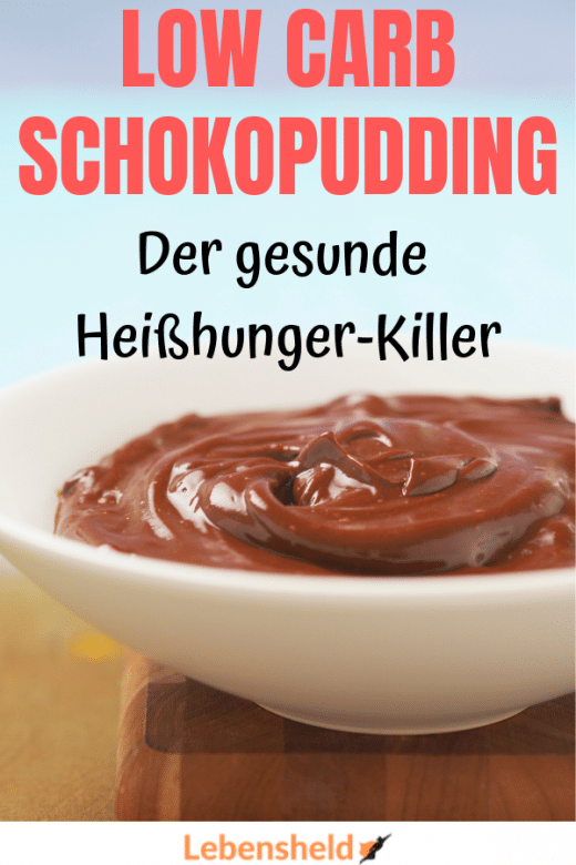 Low Carb Schokopudding - Low Carb Held