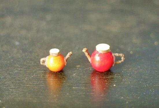 Mini teapots