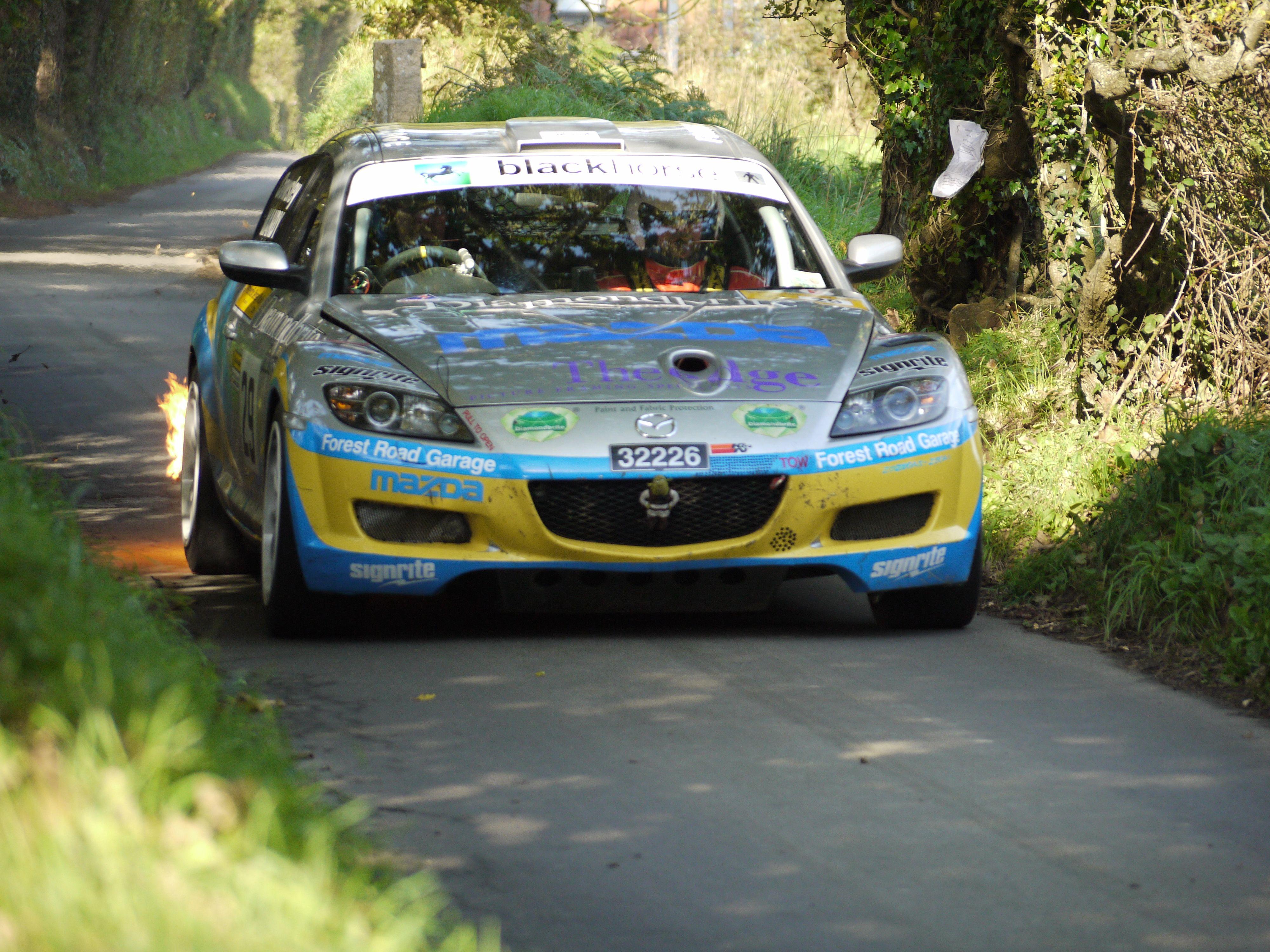 Mazda RX-8 Rally Car, Jersey Rally 2010 | Cars | Pinterest | Mazda ...
