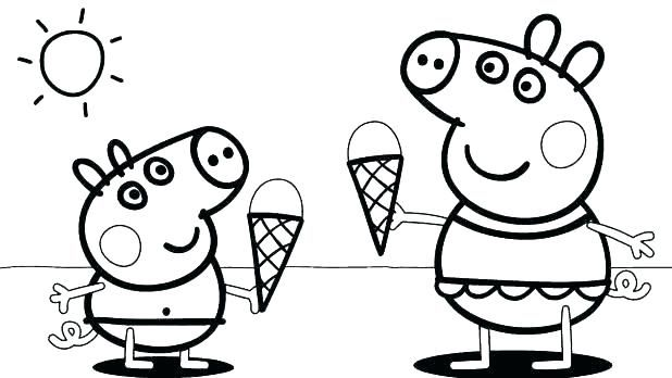 Coloring Pages For 3 4 Years Old Only Coloring Pages Peppa Pig Coloring Pages Peppa Pig Colouring Fairy Coloring Pages