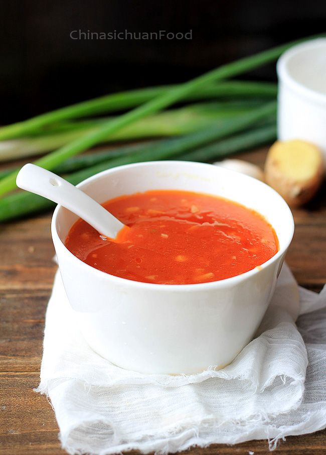 [Sweet and Sour Sauce] + Click For Recipe!  #easy #recipes #chinese #asian