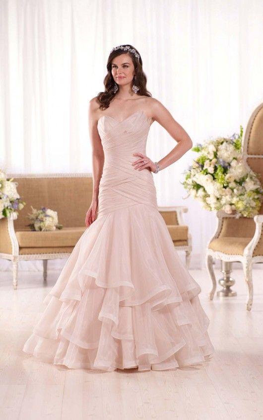 This eye-catching Regency organza wedding dress from the Essense of ...