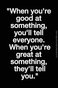 good vs great my