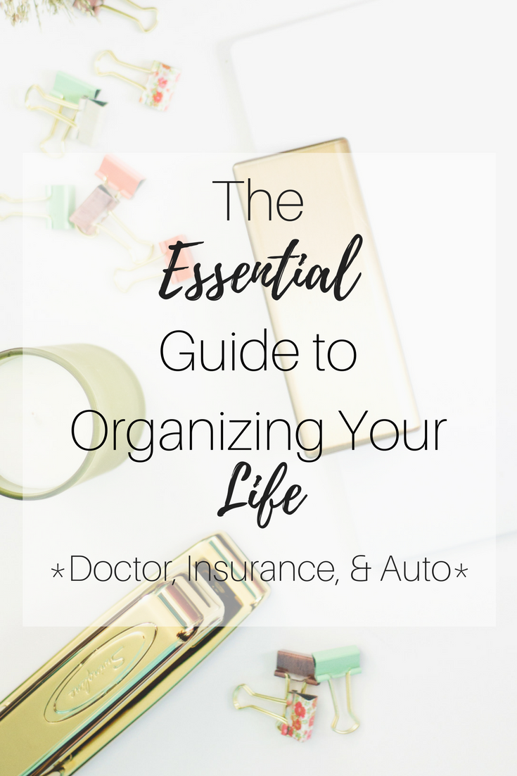 Day 3 of the C'est La Vie Series: The Essential Guide to Organizing your life. Click here to learn more about organization with life binder concept.