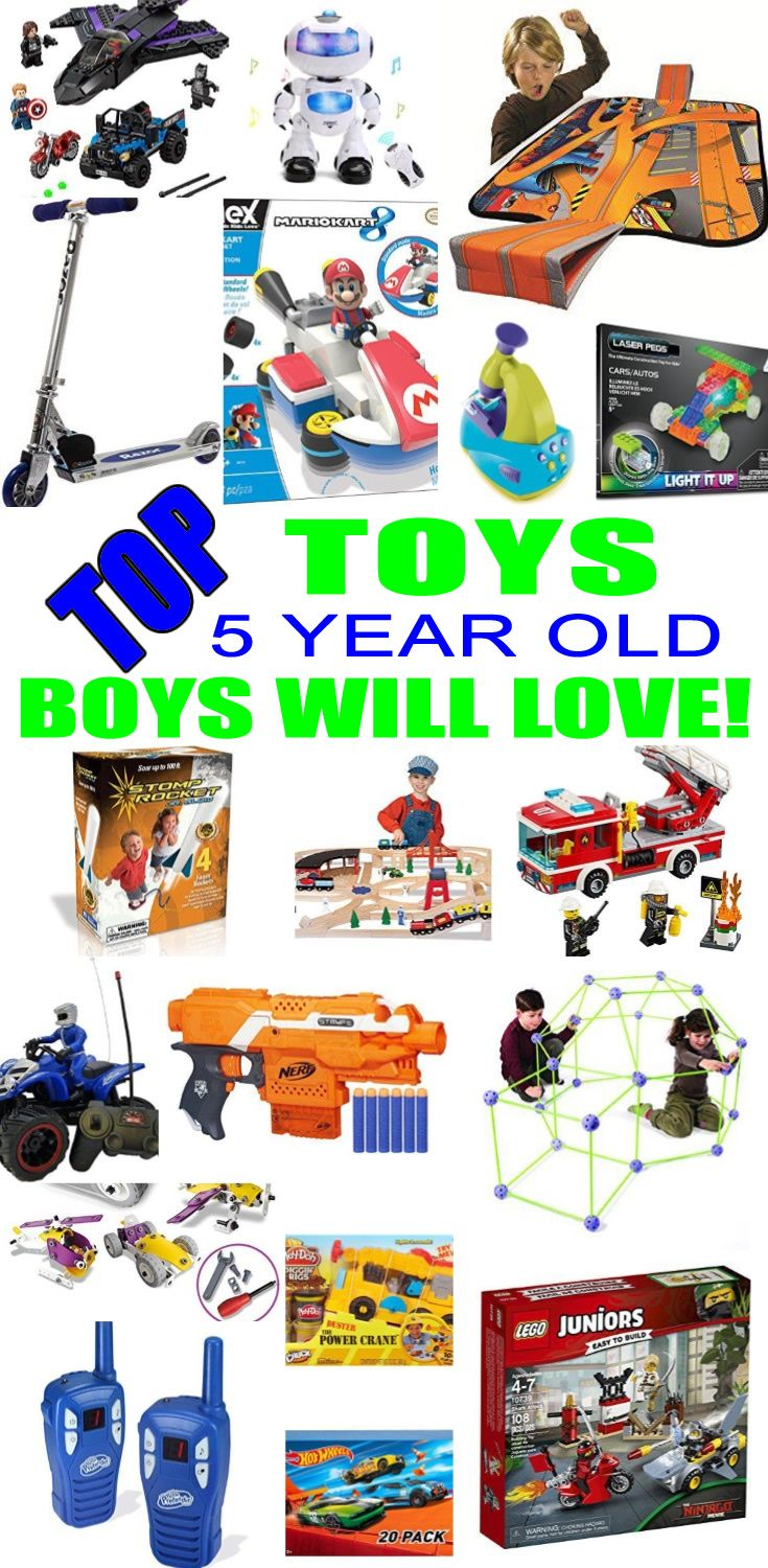 Best Toys for 5 Year Old Boys | Top Kids Birthday Party Ideas ...