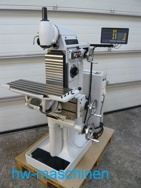 Fraesmaschine Deckel Fp1 Machine Shops Cnc Machine