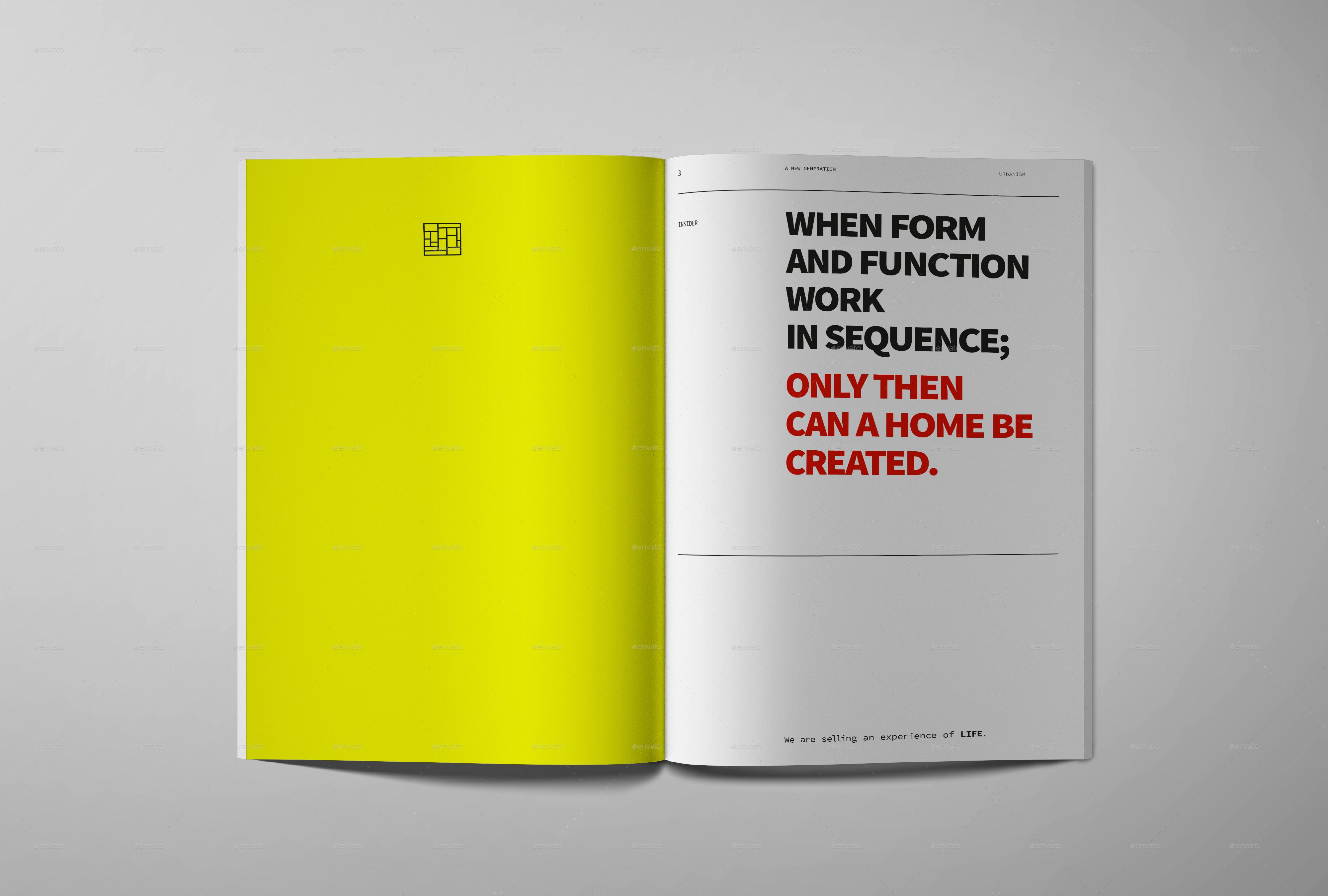 Insider architecture magazine architecture magazines template insider architecture magazine was designed as an universal architecture magazine template with an clean and modern structured editorial layout maxwellsz