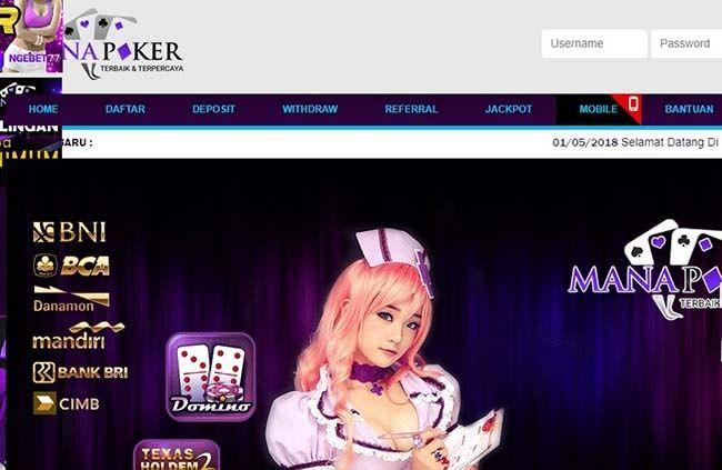 Manapoker Situs Poker Online Terpercaya Fairplay Tanpa Bot