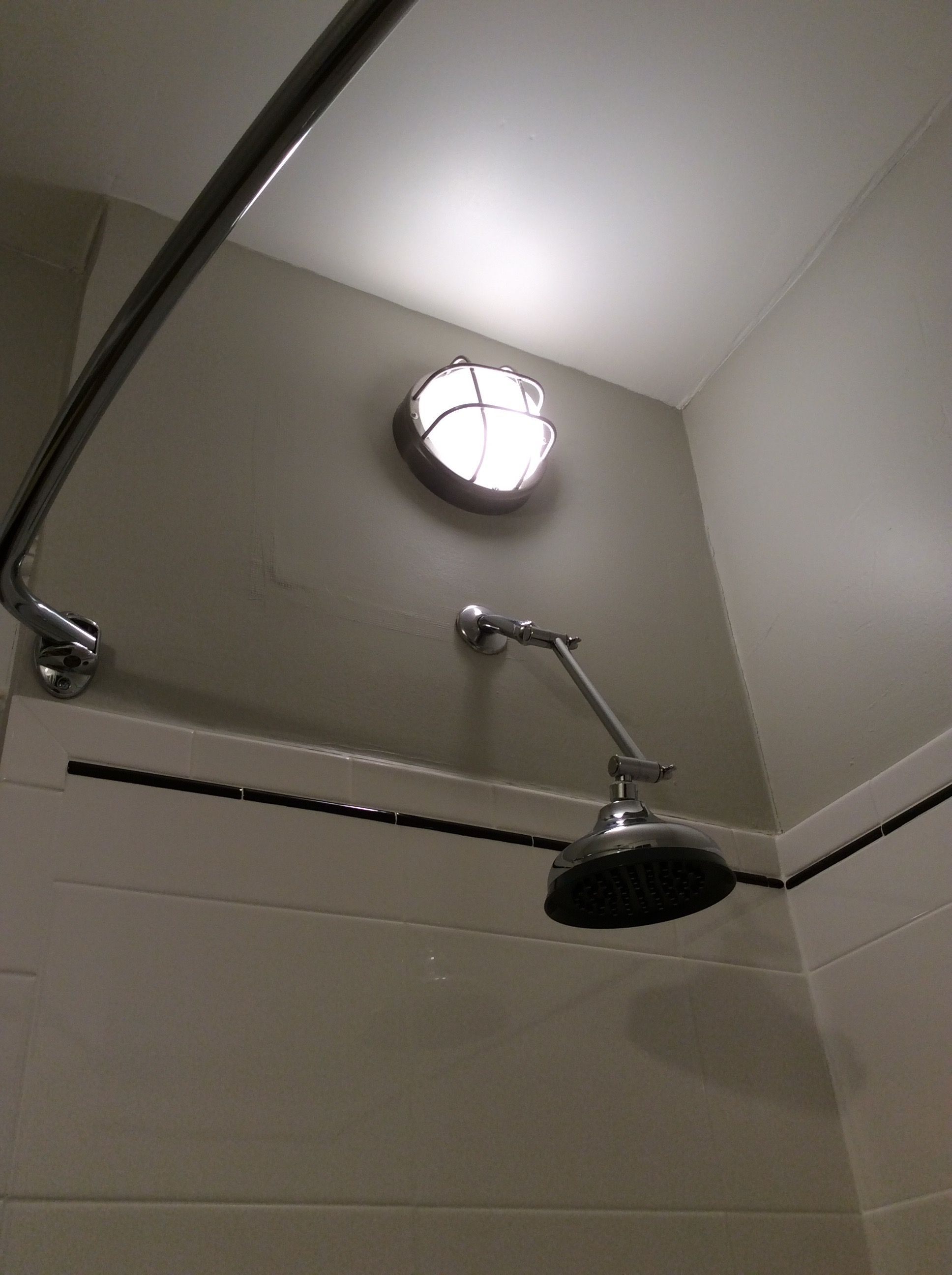 19) Installed a marine bulkhead light over the shower head and re ...