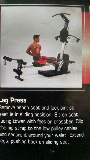 Leg press weider crossbow exercises gym workouts workout